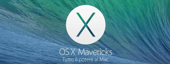OS X Mavericks sul 40% di tutti i Mac