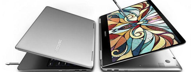 Samsung annuncia due Notebook 9 Pro con S Pen