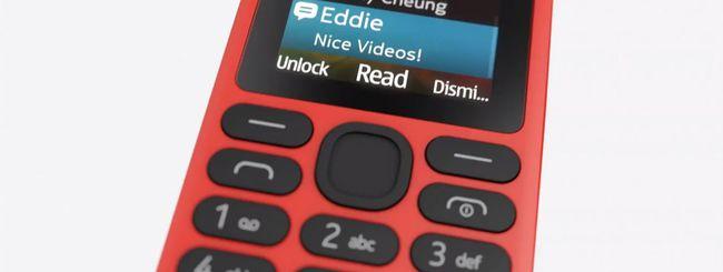Nokia 130, cellulare low budget da 19 euro
