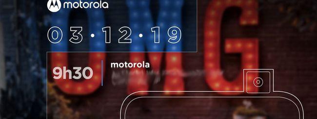 Motorola One Hyper, annuncio il 3 dicembre