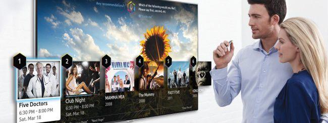 Samsung Smart TV 2014, novità per voce e gesture