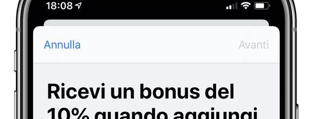 Bonus App Store: Fino a 30€ in regalo per app, libri e musica