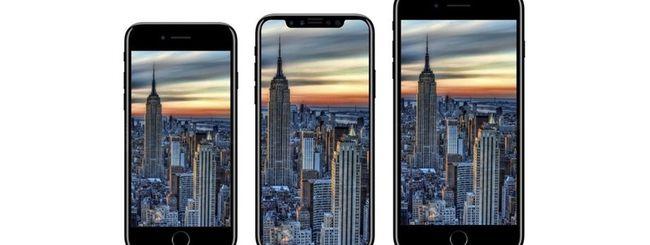 iPhone 8, 7s e 7s Plus: annuncio a settembre