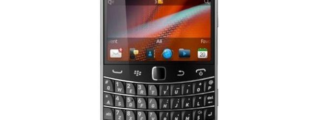 BlackBerry Bold 9900 arriva in Italia