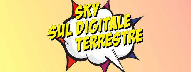 Sky dal 5 giugno anche sul digitale terrestre