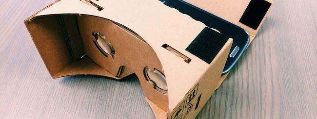 Google Cardboard: il kit acquistabile a pochi euro