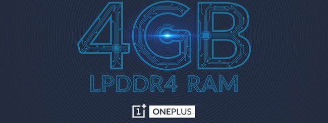 OnePlus 2 integrerà 4 GB di RAM LPDDR4