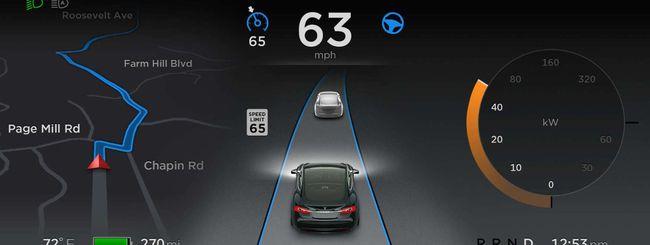Tesla, 1 miliardo di miglia per l'Autopilot