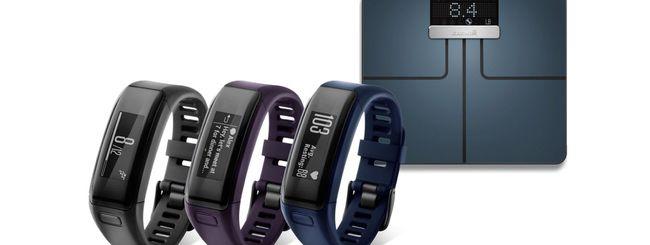 Garmin annuncia un fitness tracker e una bilancia