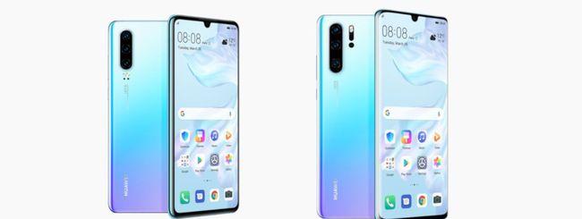 Huawei P30, vendite record per i nuovi smartphone