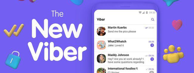 Viber 10, nuovo design con chiamate di gruppo