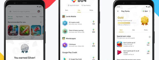 Google Play Points, al via il programma negli USA