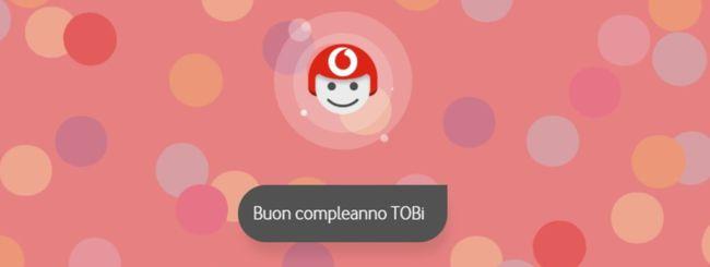 Vodafone TOBi, 2 GB gratis per il suo compleanno
