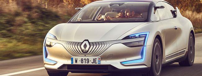 Renault SYMBIOZ: autonoma, elettrica e connessa