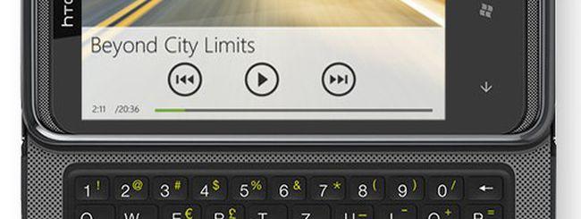 HTC 7 Pro, il nuovo Windows Phone 7