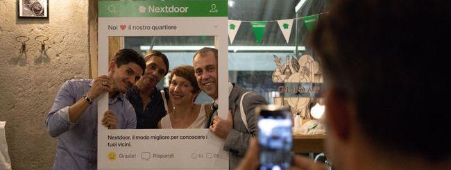 Nextdoor, la nota app di quartiere arriva in Italia