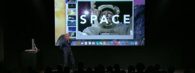 OS X Yosemite all'evento Apple