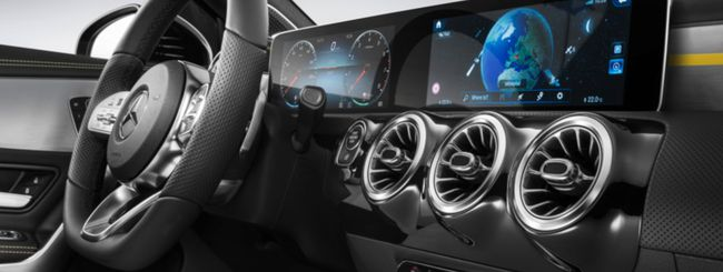Mercedes Classe A: sistema d'infotainment MBUX