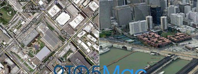 iOS 6: addio a Google Maps, arrivano le mappe 3D