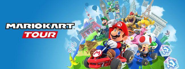 Mario Kart Tour, open beta multiplayer in arrivo