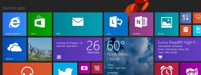 Microsoft rilascia Windows 8.1 Enterprise Preview