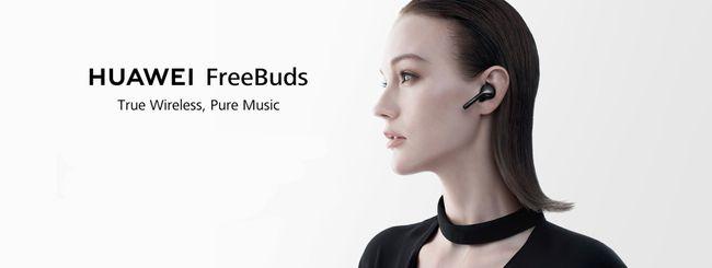Huawei FreeBuds in regalo con P20 Pro