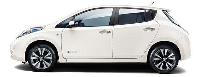 Nissan Leaf, l'auto elettrica più venduta nel 2014