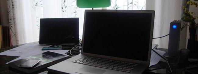Il mio MacBook Pro Santa Rosa (Late 2007)