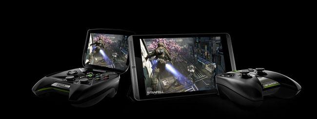 NVIDIA Shield Tablet e Controller
