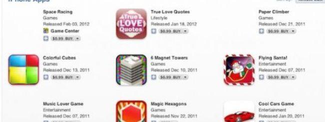 Apple elimina alcune applicazioni-imitazione dall'App Store