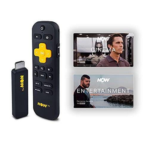 NOW Smart Stick con i primi 3 mesi a scelta fra Cinema oppure Entertainment