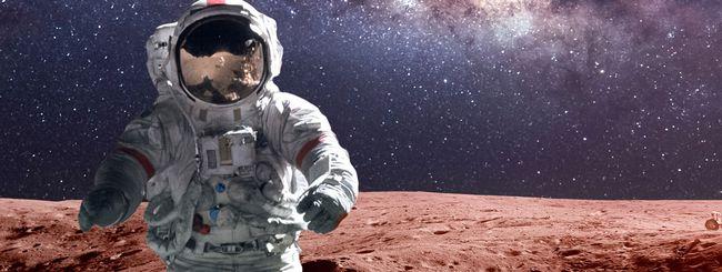 Marte: rischio danni cerebrali per gli astronauti