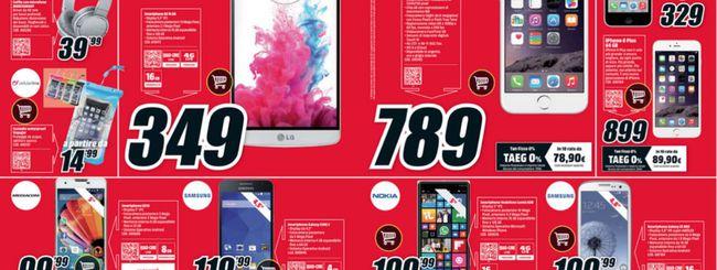Volantino Mediaworld: Surface 3 64 GB a 599 euro