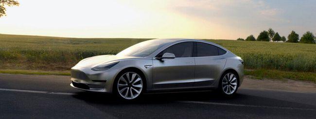 Tesla Model 3, 606 miglia con una singola ricarica