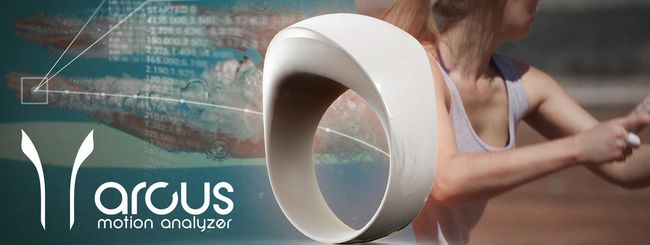Arcus Motion Analyzer, l'anello hi-tech tuttofare