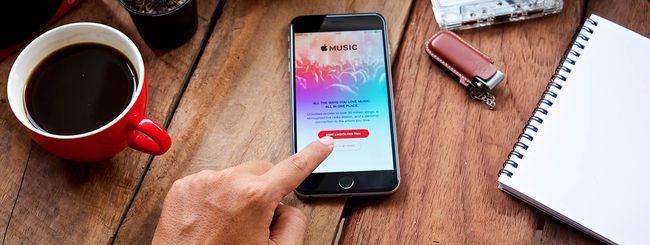 Apple Music assorbe iTunes Radio