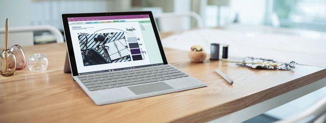 Type Cover in Alcantara per Surface Pro 4