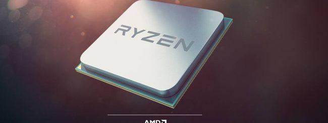 AMD annuncia i primi processori Ryzen