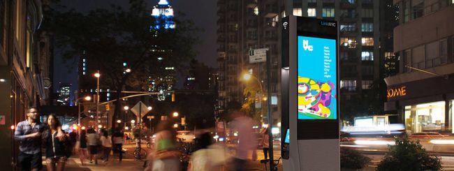 LinkNYC: WiFi gigabit pubblico a New York