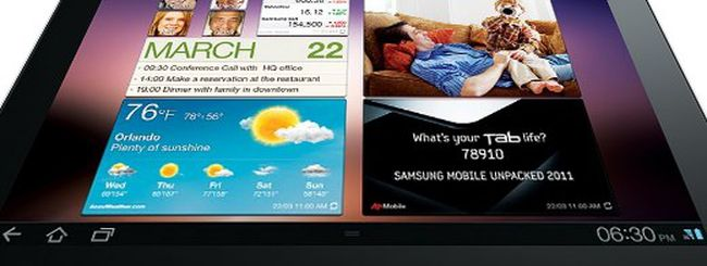 Samsung Galaxy Tab 10.1 contro tutti