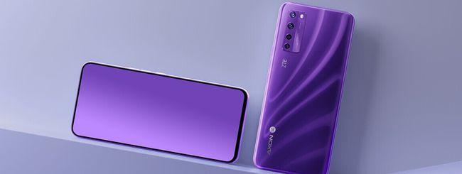 ZTE, lancia lo smartphone con selfie camera sotto lo schermo