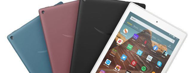 Amazon aggiorna il tablet Fire HD 10