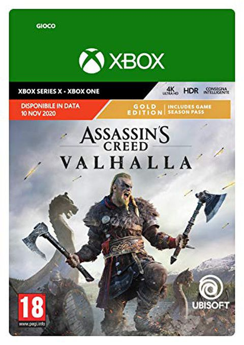 Assassin's Creed Valhalla (Gold Edition, Codice download Xbox)