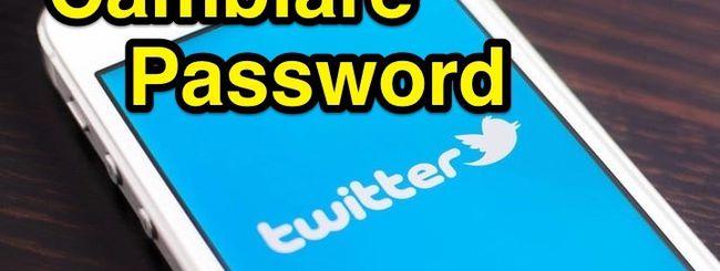 Cambiare Password Twitter su iPhone: fatelo subito