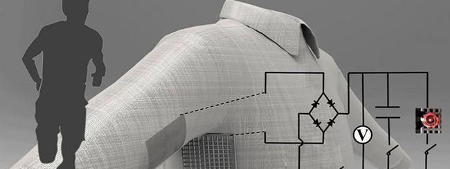 Abiti smart stampati in 3D che producono energia