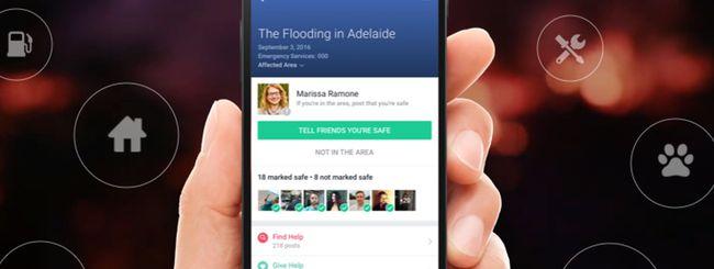 Facebook Community Help aiuta le persone