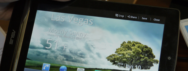 CES 2012: ASUS MeMO 171, tablet ICS dual core da 7 pollici
