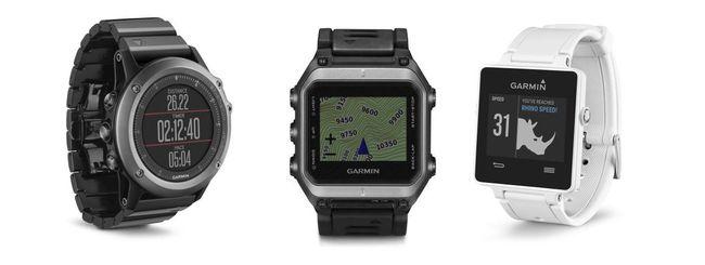 CES 2015: Garmin annuncia tre nuovi smartwatch