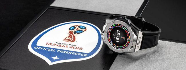 Hublot annuncia uno smartwatch per gli arbitri