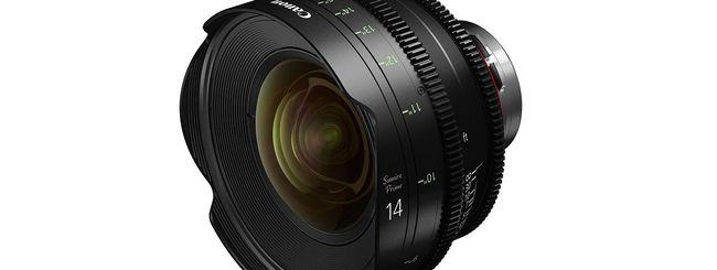 Canon Sumire Prime: un nuovo set di ottiche cinematografiche PL